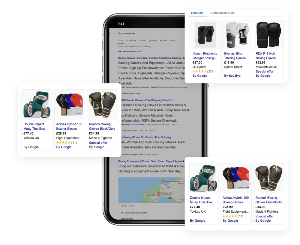 buy-boxing gloves google search